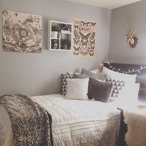 196 best images about neutral dorm room on pinterest dorm room layouts tapestries and comforter. Black Bedroom Furniture Sets. Home Design Ideas