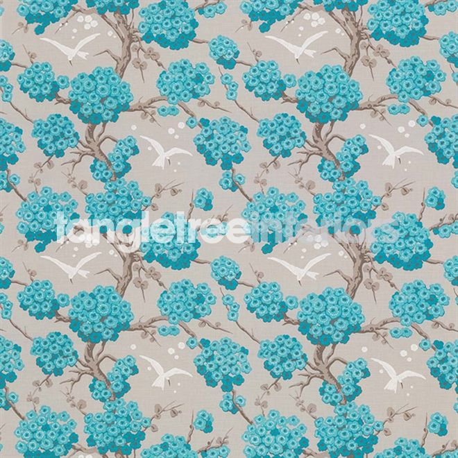 Japonerie fabric from Osborne and Little