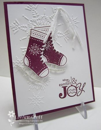 Stitched Stockings Class to Go from Flowerbug's Inkspot
