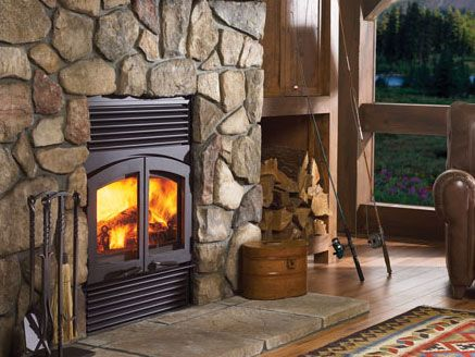 wood burning fireplace inserts google search
