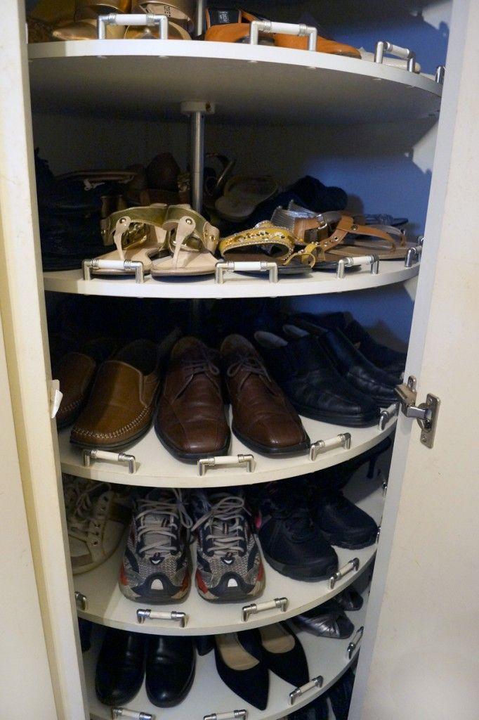 attic closet storage ideas - 25 melhores ideias sobre Sapateira Giratoria no Pinterest