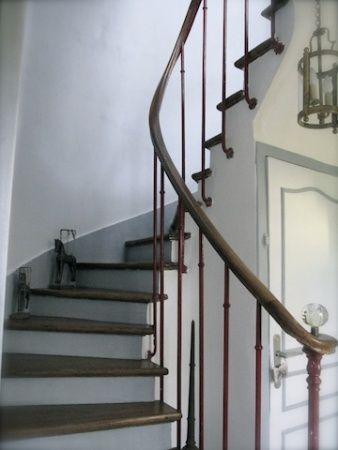 entr e mont e d 39 escalier palier belle photos and album. Black Bedroom Furniture Sets. Home Design Ideas