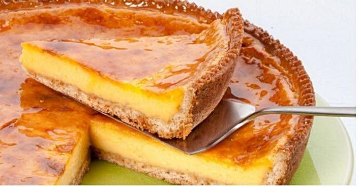 Tarte rápida de maisena   Sobremesas de Portugal