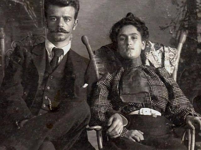 """tournevole: """" les parents de Fridz Kahlo """""""