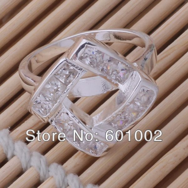 GY-AR033 SIZE 9 # BIG sale ! Free Shipping Wholesale 925 silver fashion RING HTRUHFGH US $3.99