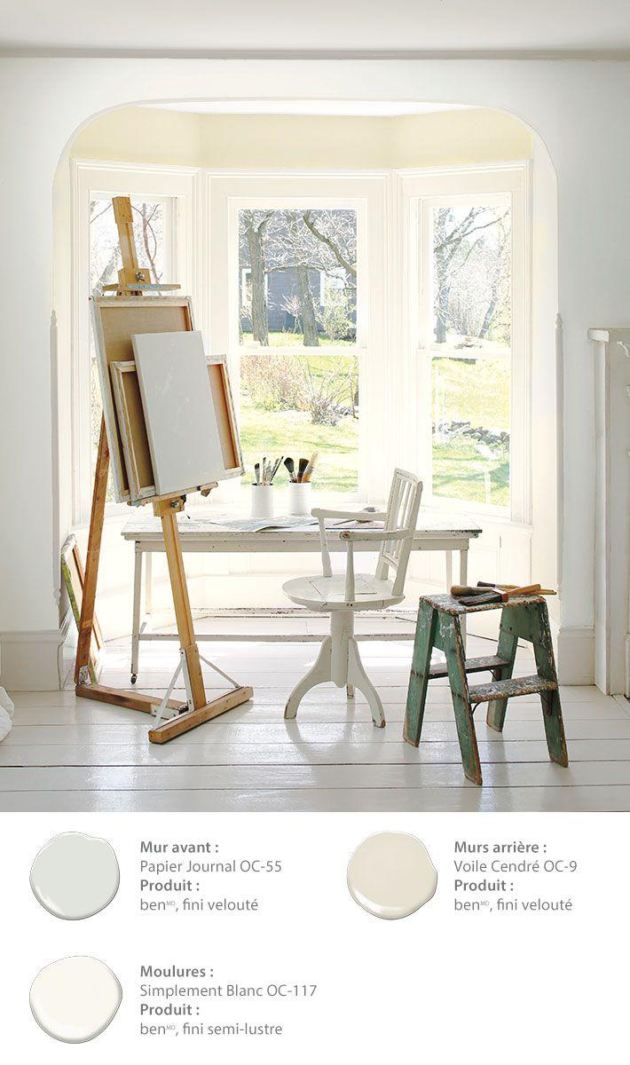 sur Pinterest  Couleurs de peintures, Peinture couleur blanc et Behr