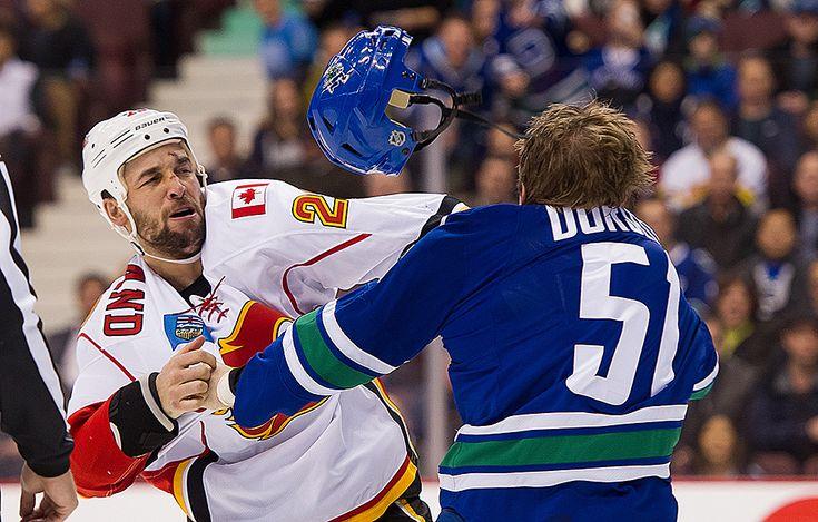 Jest hokej, jest bójka
