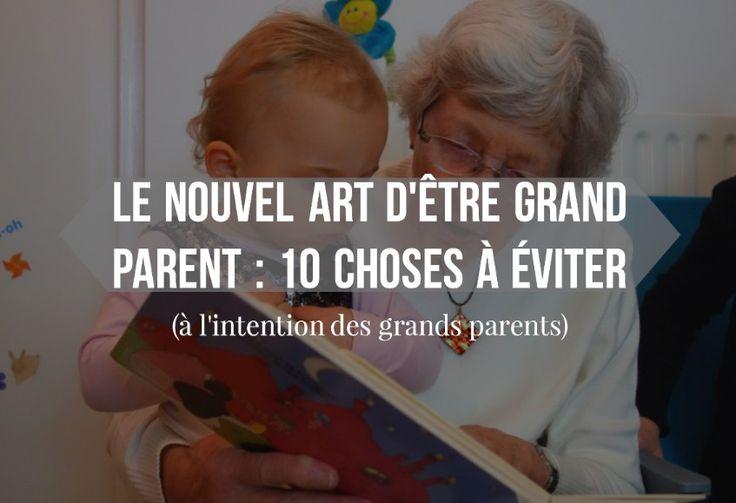 A lire par les nouveaux parents et grands-parents, quand les premiers ont choisi une éducation bienveillante que les derniers ne comprennent pas...