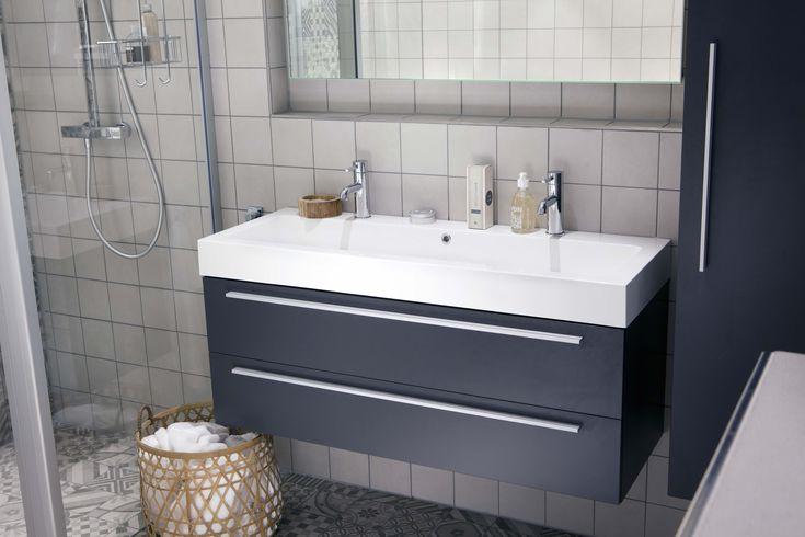 Ikea Wasbakken Badkamer ~ Een nieuwe trendy badkamer in de showroom met een aantal slimme