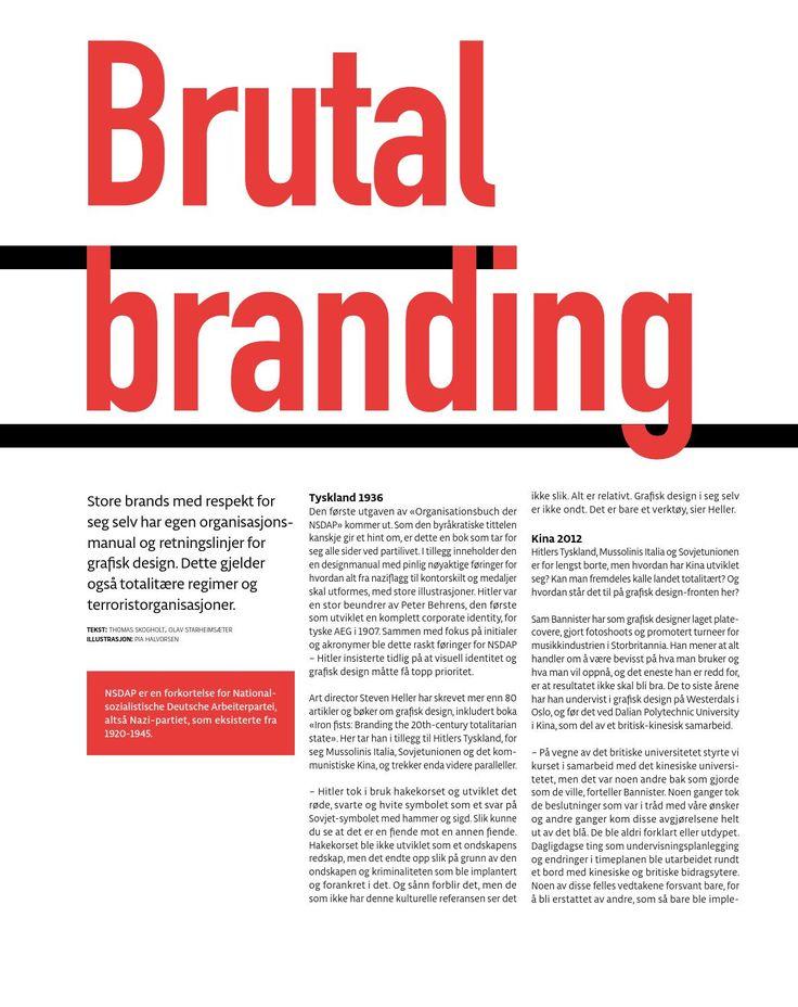 Bold | Brutal branding | Artikkel