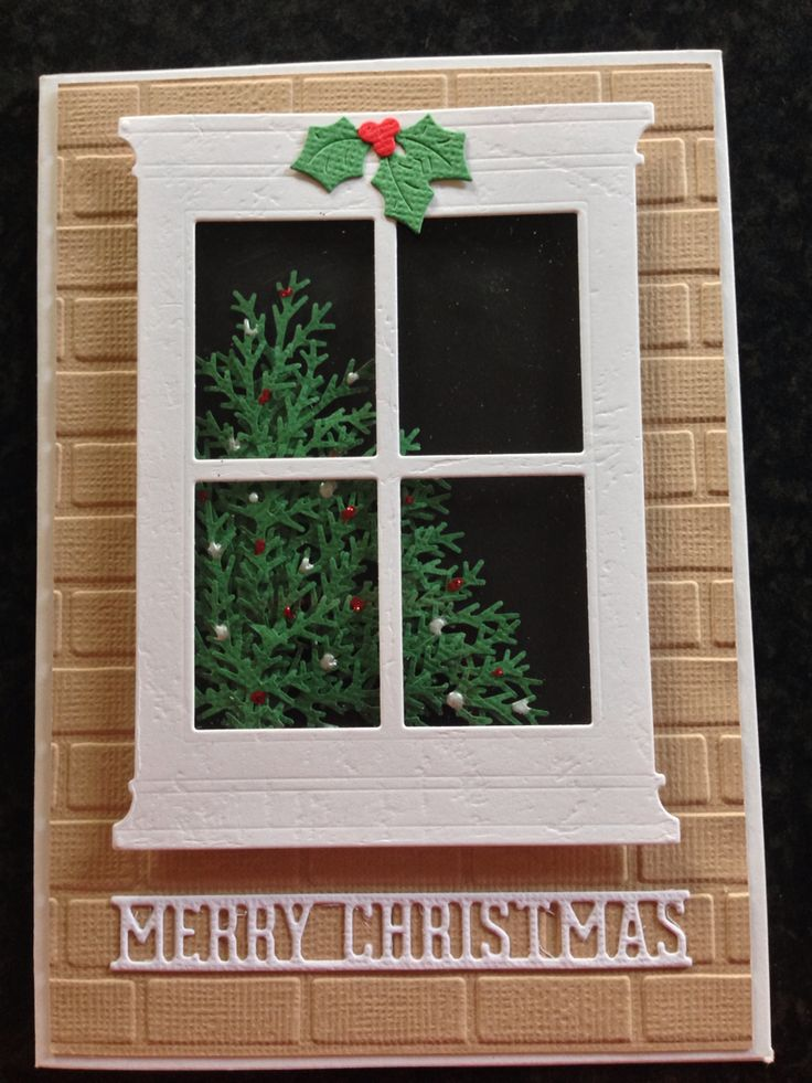 Madison window Christmas card