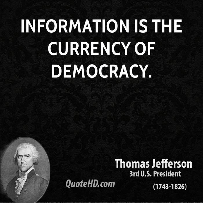 Thomas Jefferson Quotes On Democracy   thomas-jefferson-quote-information-is-the-currency-of-democracy