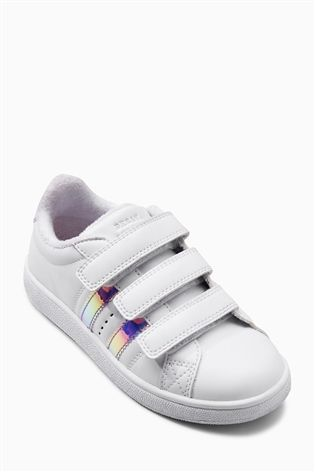 Buy White Mermaid Stripe Trainers (Older Girls) from the Next UK online shop