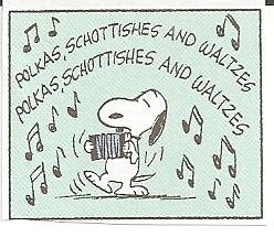Snoopy accordion
