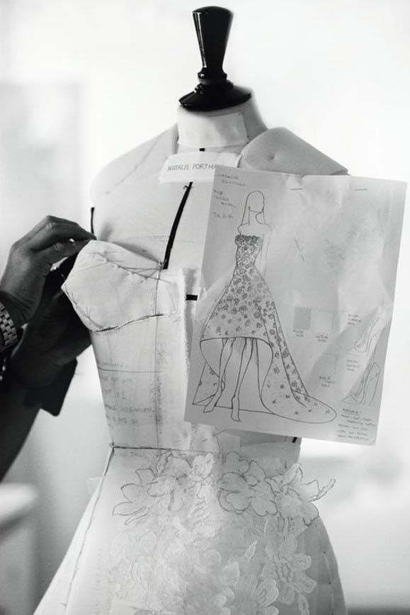 Fashion Atelier - dressmaking; couture sewing; fashion design behind the scenes // Christian Dior