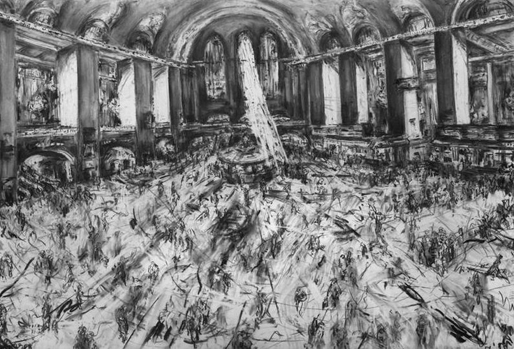 Jeanette Barnes Interior of Grand Central Station New York