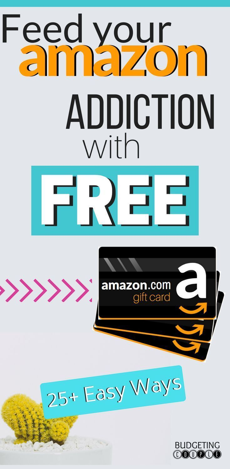 25 Lazy Ways To Get Free Amazon Gift Cards 2019 Guide Amazon Hacks Free Amazon Products Amazon Gift Card Free