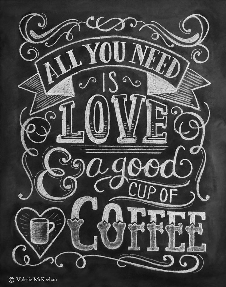 Coffee Lover Gift  All You Need Is Love And Coffee  by LilyandVal, $19.00