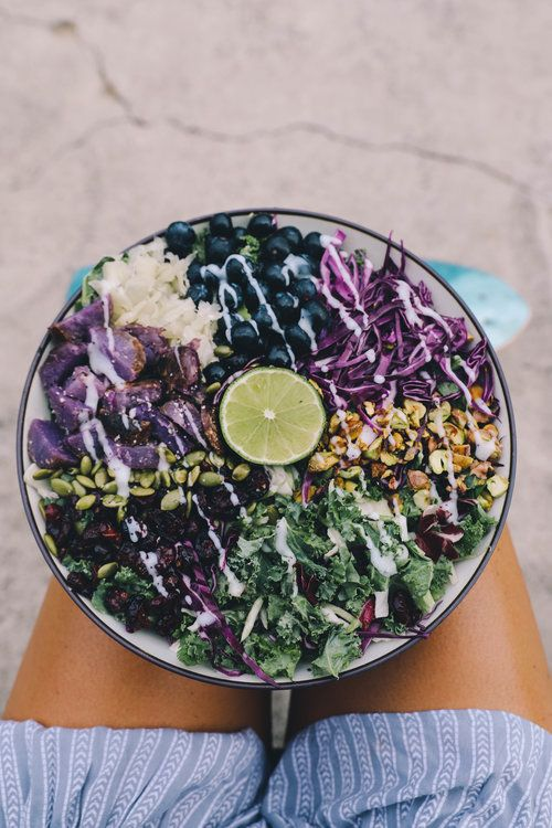 Mermaid Bowl with mustard dressing