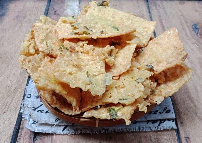 Resep Keripik Tempe Kriuk Oleh Michico Octavian Resep Makanan Keripik Resep Masakan Indonesia