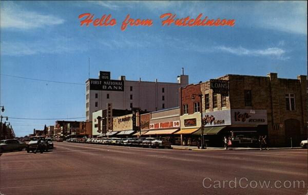 Downtown Hutchinson, KS