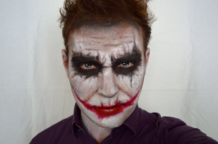 THE JOKER (Heath Ledger dark knight version) HALLOWEEN MAKEUP TUTORIAL