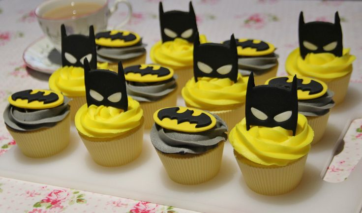 Batman cupcake toppers - Visit to grab an amazing super hero shirt now on sale!