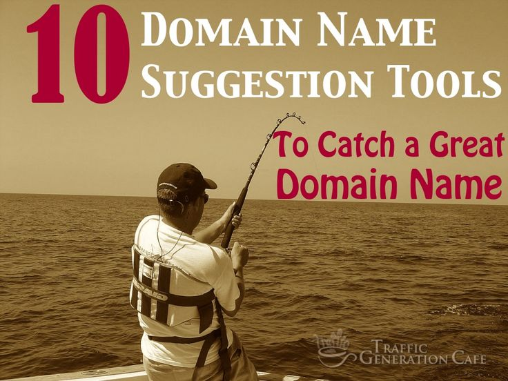 10 Domain Name Suggestion Tools to Catch a Great Domain Name by Ana Hoffman via slideshare #domainname #web #domaining #infoslide