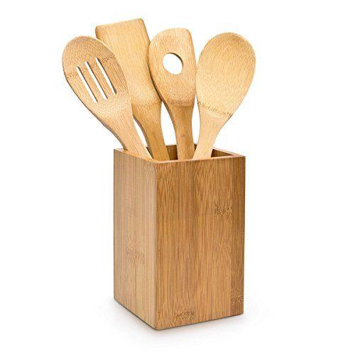 Relaxdays Küchenhelfer Set Bambus 5-teilig je 30 cm als K... https://www.amazon.de/dp/B0065HUH2S/ref=cm_sw_r_pi_dp_x_ygiPybG3R0XD9