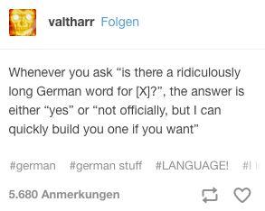 Deutsch ist so logisch wie Mathe. Deutsche Worte kannst du ganz einfach herleiten.