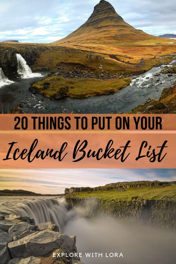 The most beautiful all natural Iceland attractions you can visit