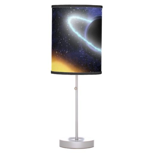 NASAs Black hole PIA01884 desk lamp