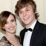 "Evan Peters Felt ""Stupid And Awkward"" When Flirting With Fiancee Emma Roberts"