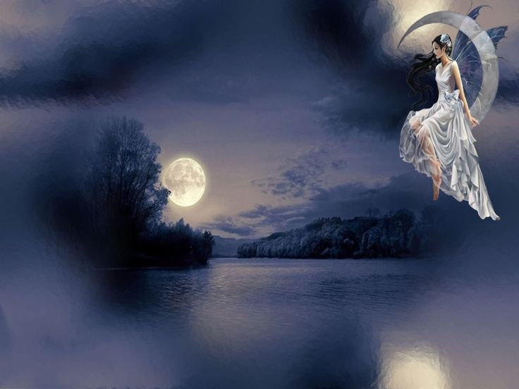 HD Fairy Wallpapers | Moon Fairy Wallpaper Hd 10 Background Wallpaper