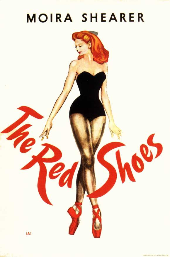THE RED SHOES, 1948. Directed by Powell and Pressburger, starring Moira Shearer. Click through for Martin Scorsese on his friendship with Michael Powell.
