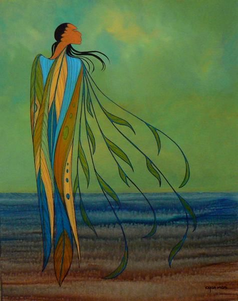 Summer Winds - Contemporary Canadian Native, Inuit & Aboriginal Art - Bearclaw Gallery