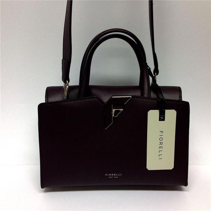 Annons på Tradera: Höstens elegantaste Handväska Bromton FIORELLI i svart med axelrem