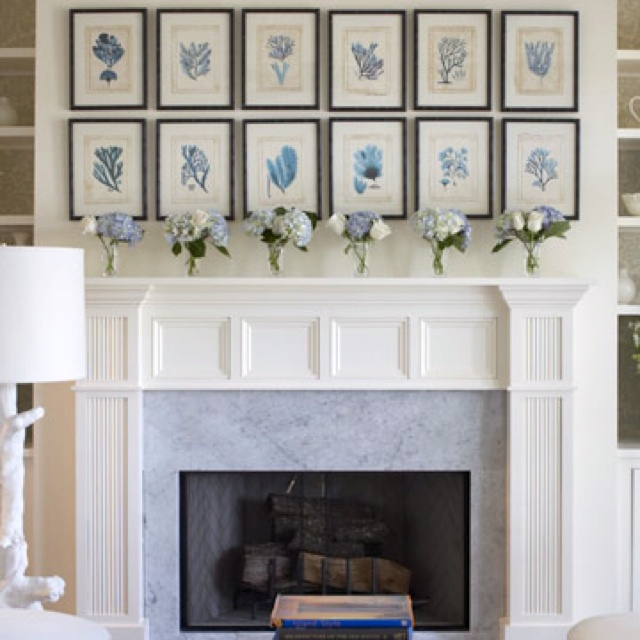 over the mantel ideas