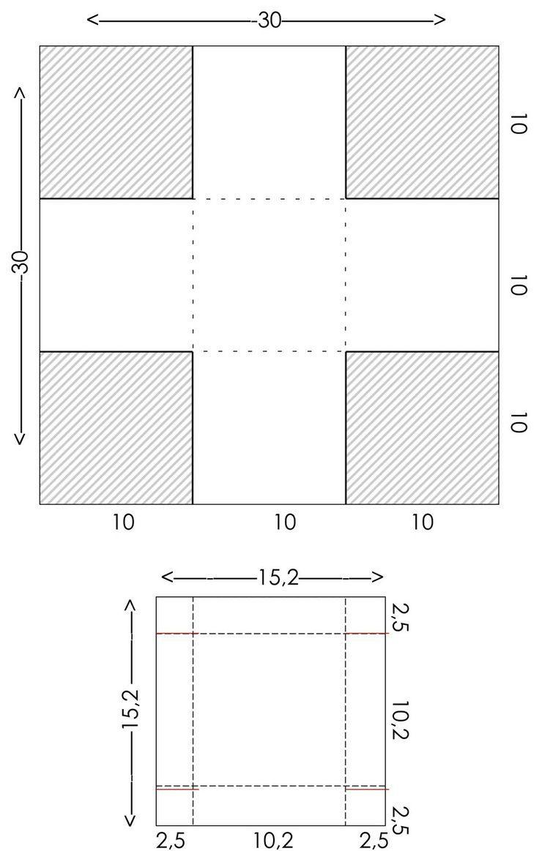 Pattern For Box Box Pattern Diy Explosionsbox