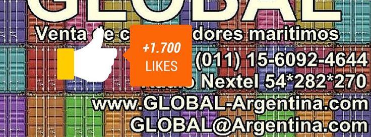 http://www.facebook.com/venta.de.contenedores.containers.maritimos  Visita nuestros #perfiles en las distintas #redes #sociales entrando a nuestra #pagina #web: www.54-11.com/ #containers #contenedores #facebook #googleplus #google+ #twitter #linkedin #youtube #pinterest #instagram GLOBAL@Argentina.com Venta de #containers #maritimos, venta de #contenedores #refrigerados y de #carga seca. Servicios de Comercio Exterior