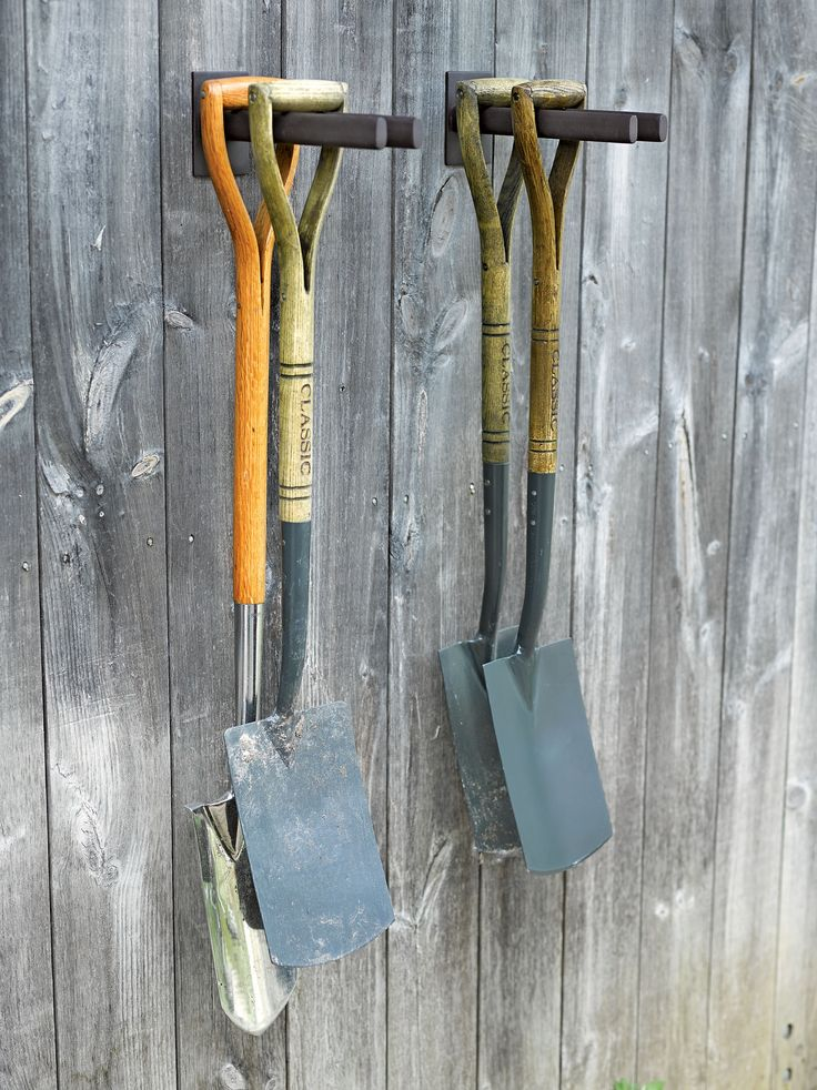 Garden Tool Rack: Steel Rack for Shovels, Hoes+ | Gardeners.com