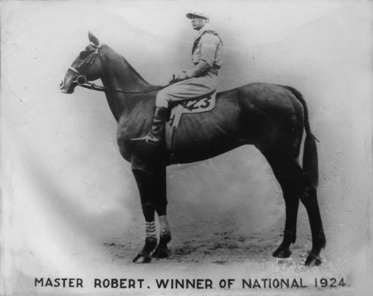 Master Robert who was the 1924 Grand National winner.