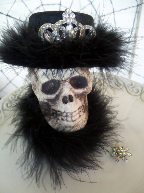 Monique A Glamorous Halloween Decoration by JeanKnee on Etsy, $25.00