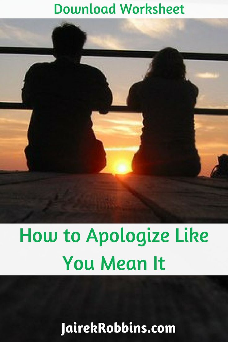How To Apologize Like You Mean It Check Out Today's Video And Download Your