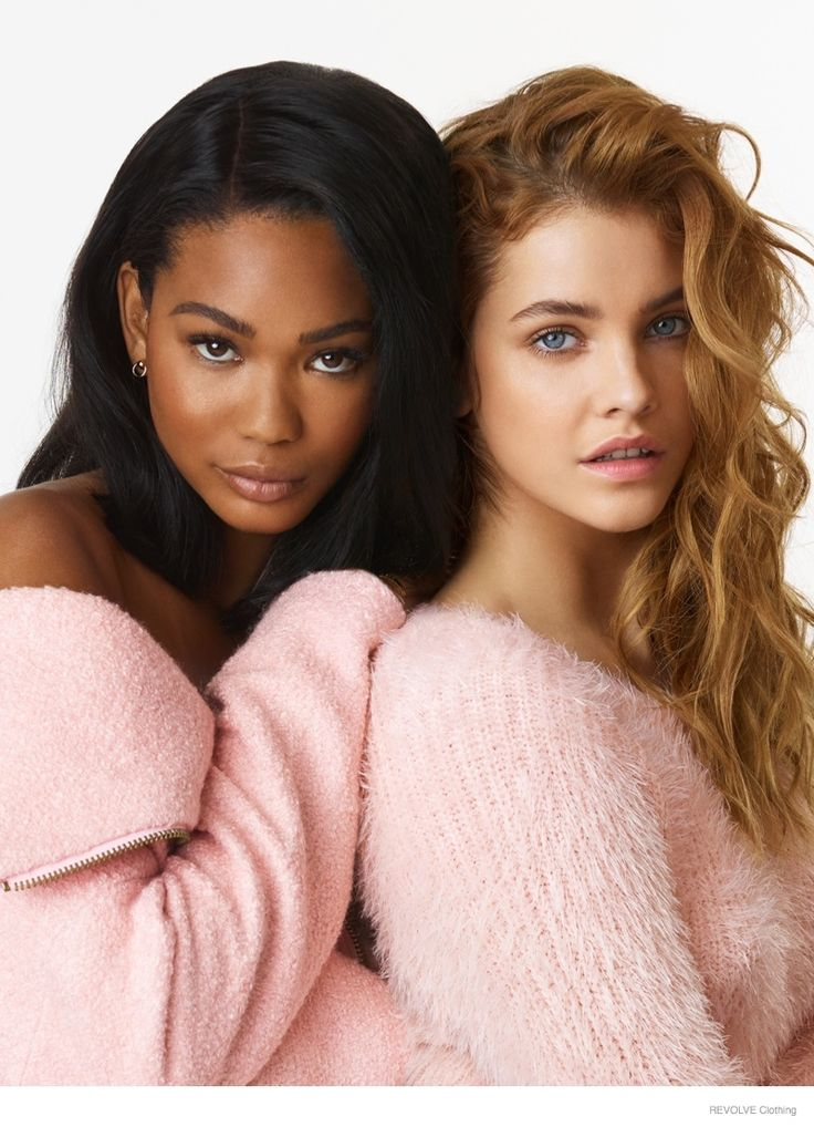 Barbara Palvin & Chanel Iman Star in REVOLVE Clothing's Fall 2014 Campaign