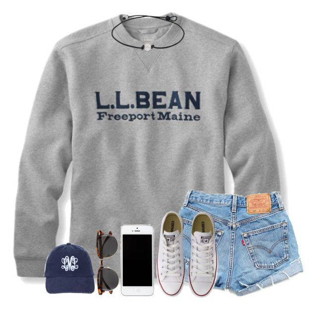 """""""~ country girls drive tractors ~"""" by mmadss ❤ liked on Polyvore featuring Levi's, Converse, H&M and country"""