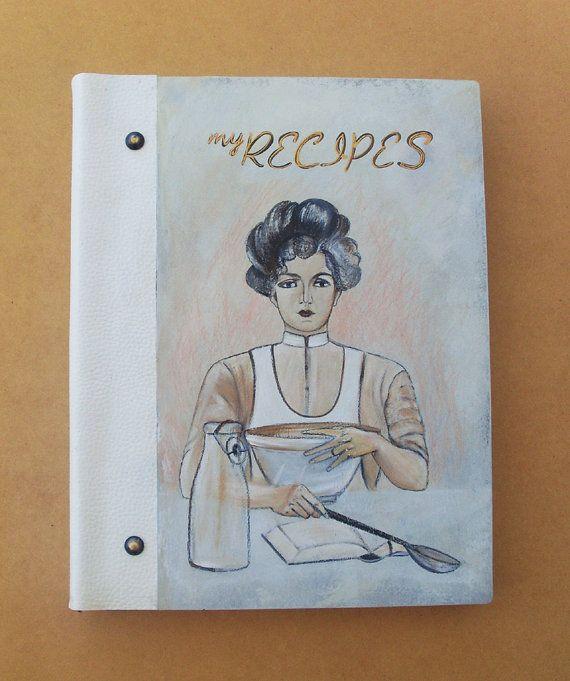 RECIPE BOOK Personalized Recipe Book Recipe by allabouthandicraft