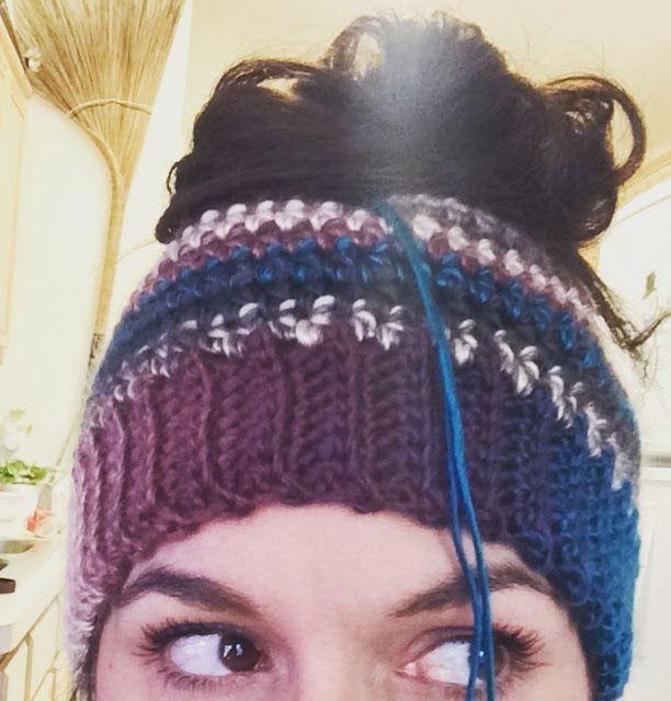 Bun Hat Crochet Pattern