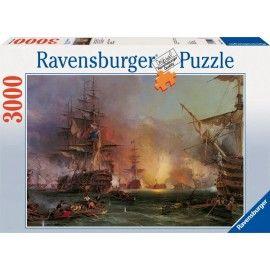 Hadihajók - Algír Bombázása, Ravensburger puzzle 3000 db