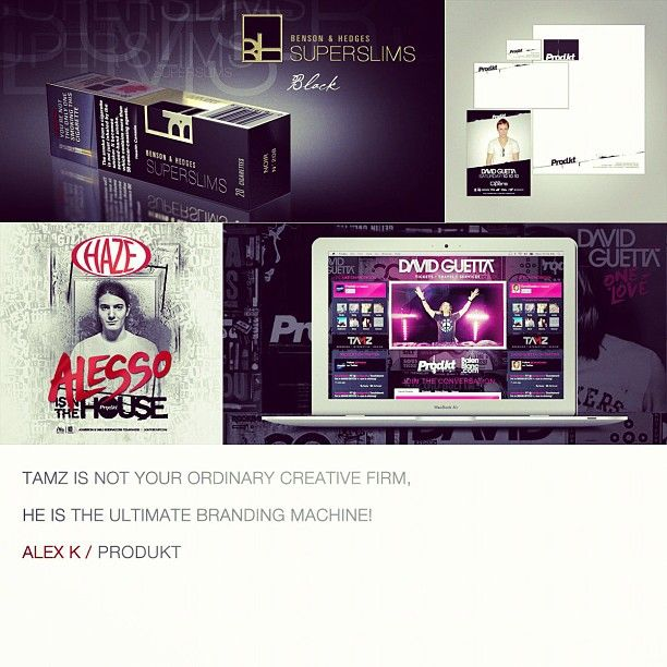 """""""TAMZ is not your ordinary creative firm, he is the ultimate branding machine!"""" - Alex K"""